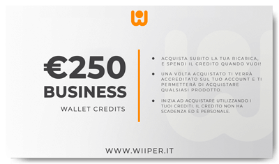 Business Wallet Credits